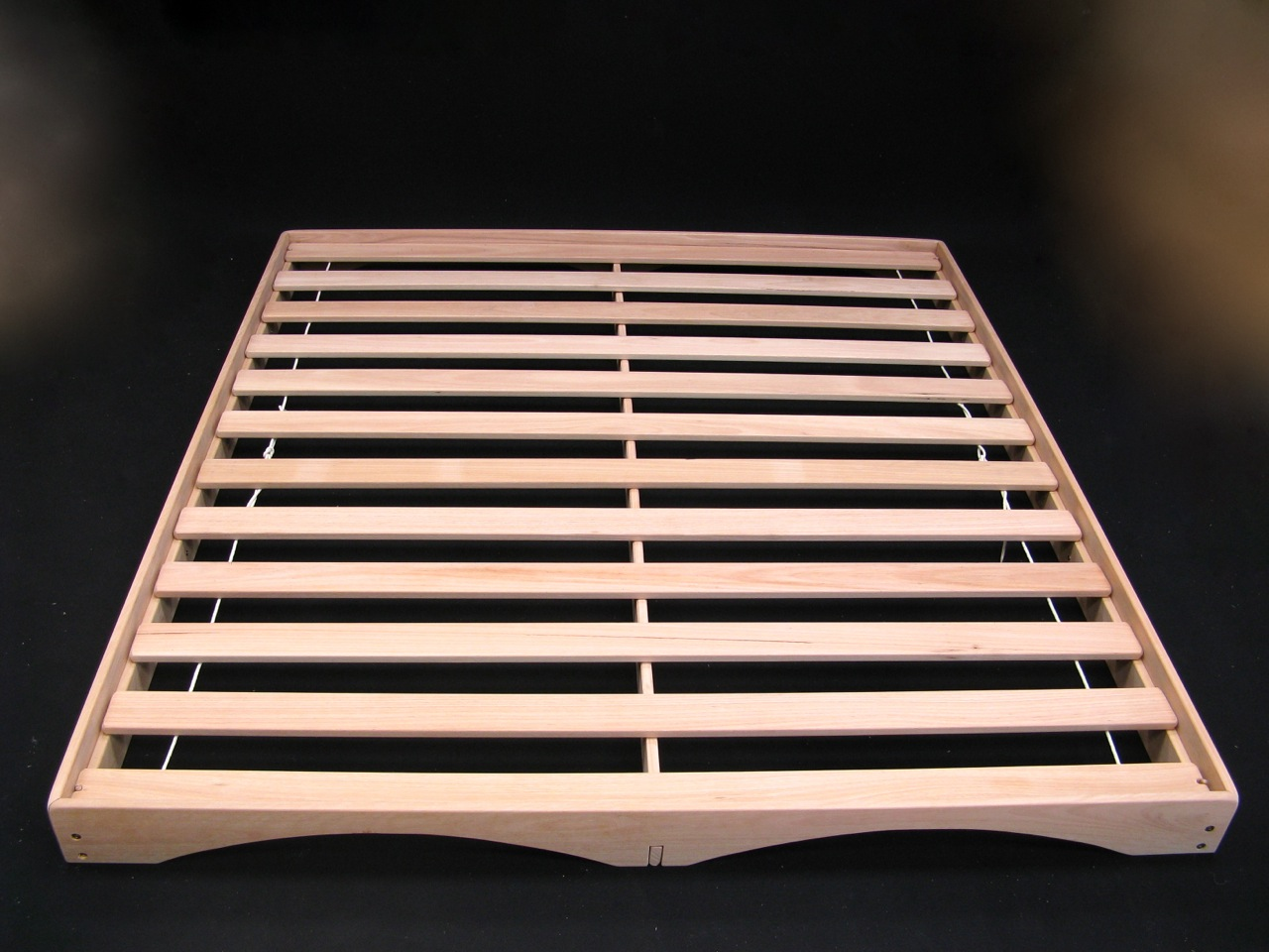 Low Line Bed Base Richard Knight Woodworks